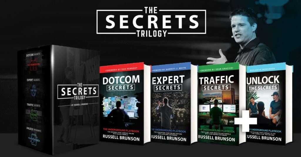 The Secrets Trilogy Books Set