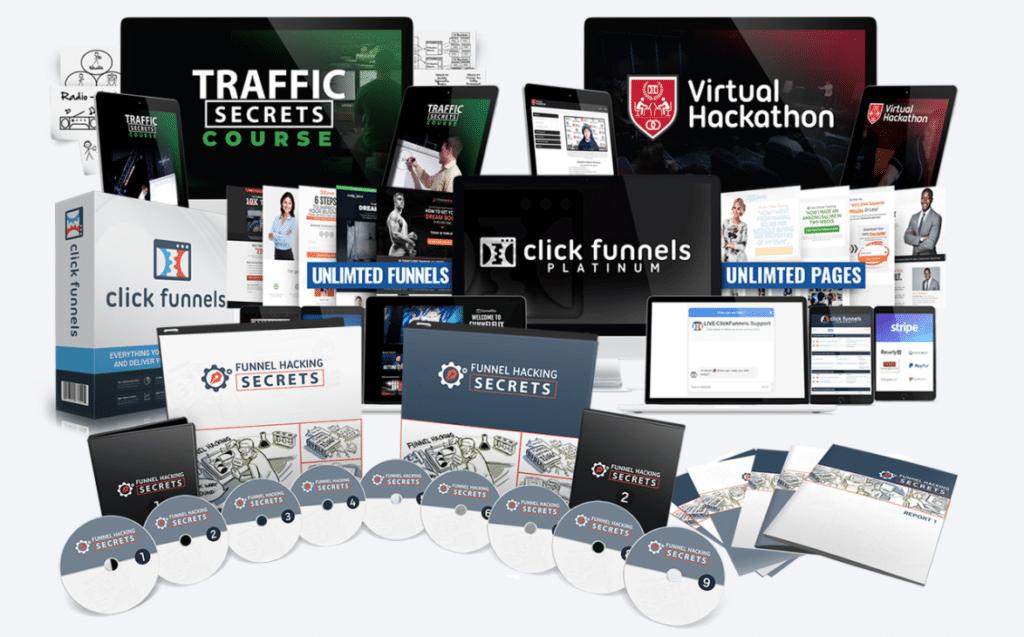 Funnel Hacker Secrets Bundle