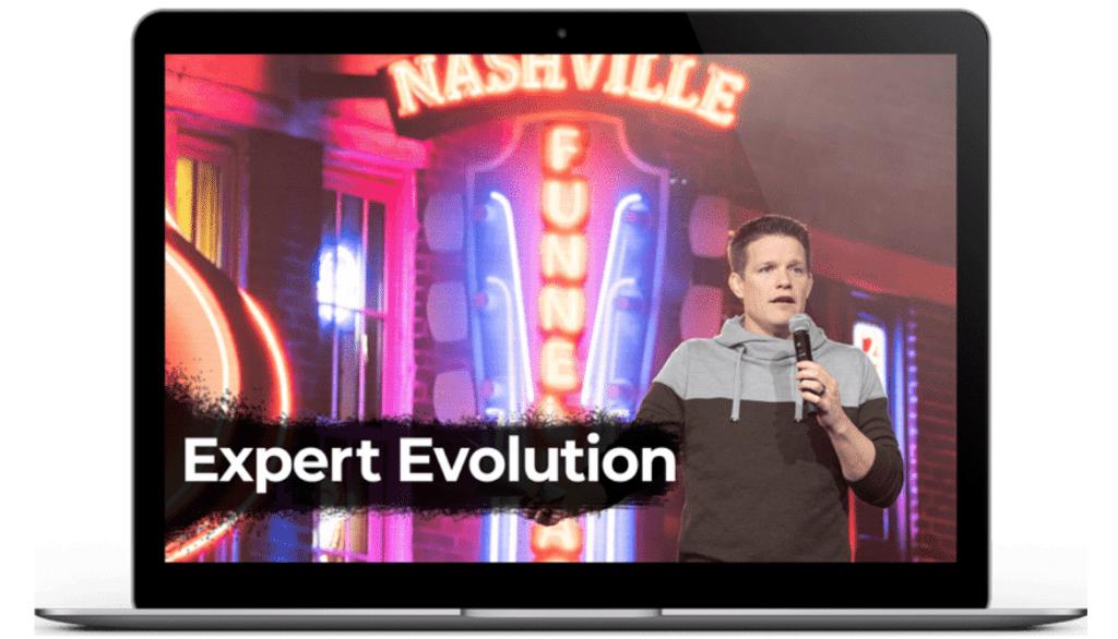 expert evolution illustration