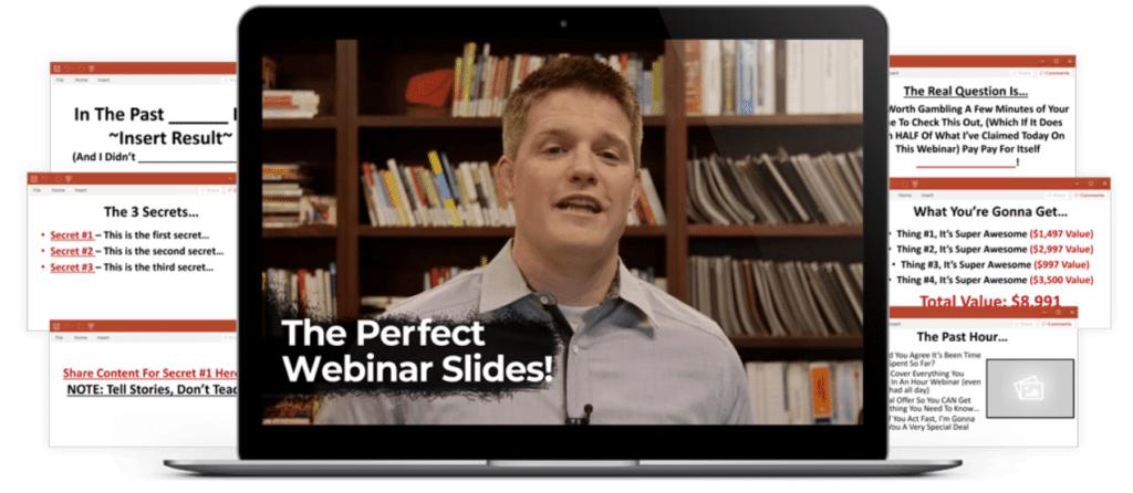 The perfect webinar slides illustration