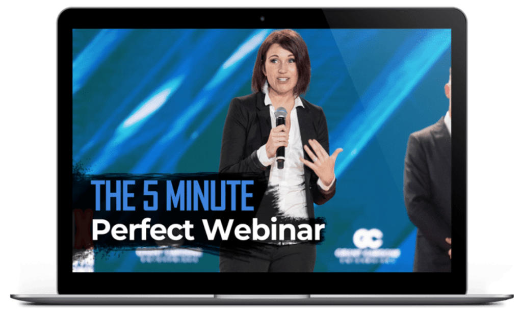the 5 minute perfect webinar presentation illustration