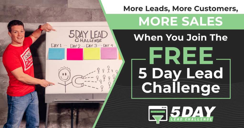 5 Day Lead Challenge Banner