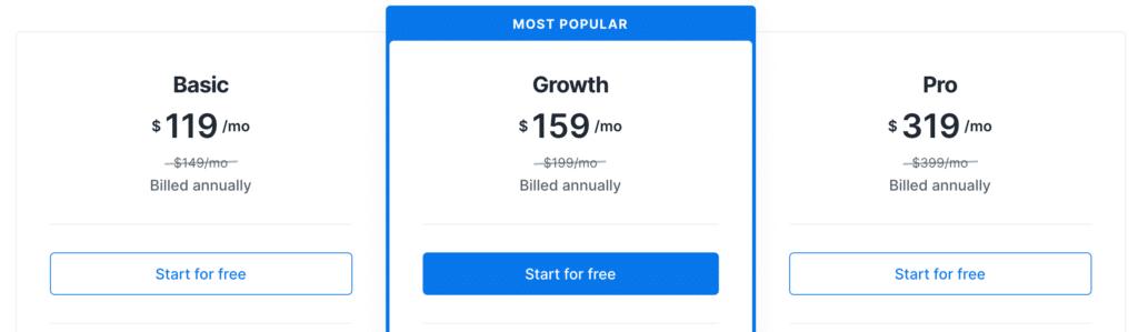 Kajabi Annual Pricing