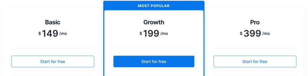 Kajabi Monthly Pricing