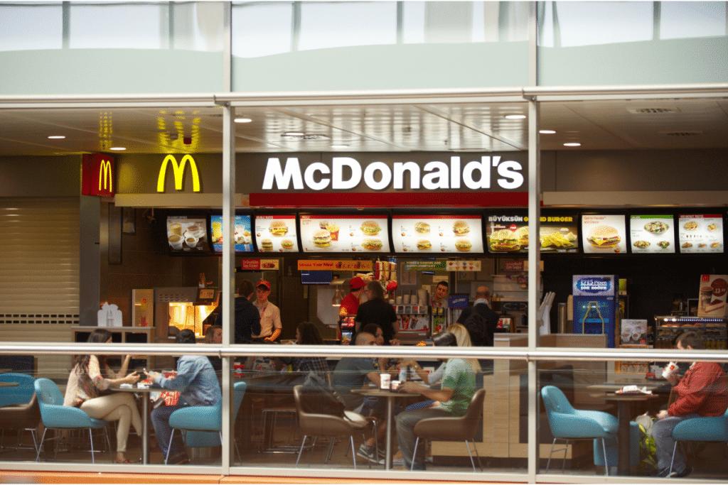 McDonalds Restaurant Sales Funnel Example