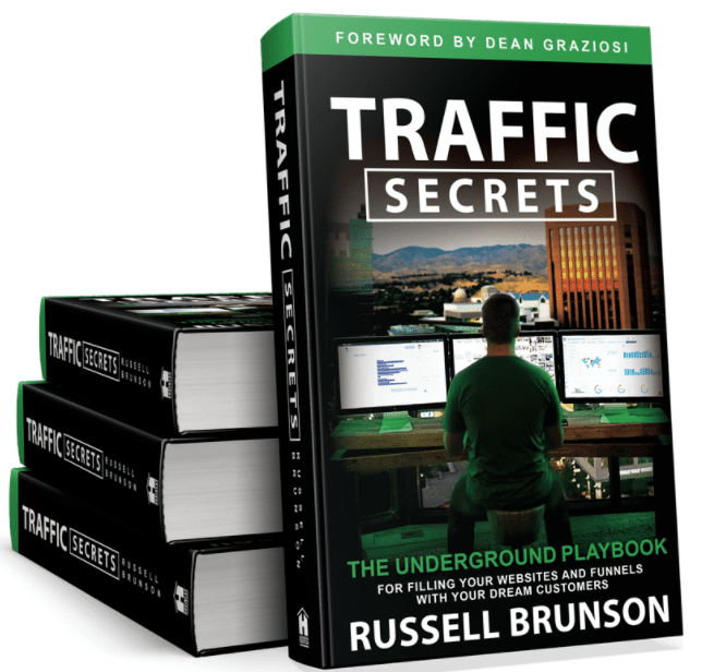 Four Traffic Secrets Books