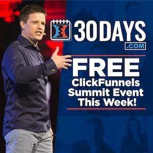 ClickFunnels 30 Day Free Summit Link
