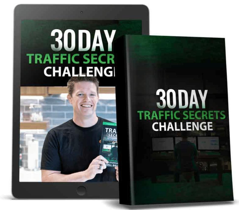 30 day traffic secrets challenge illustration