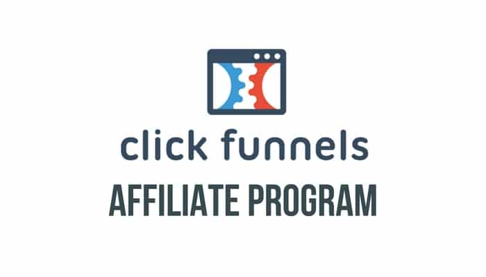 the words clickfunnels affiliate program on a white background
