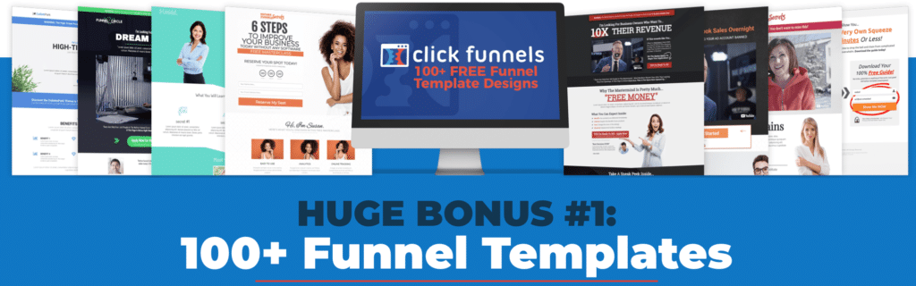 100 + Free Funnel Templates