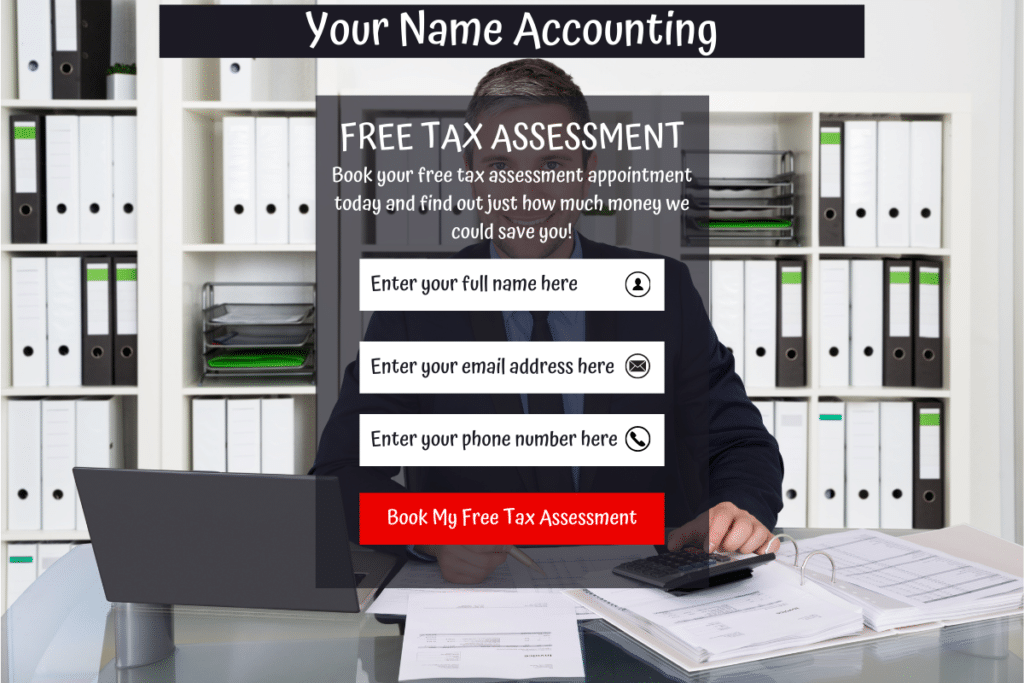 ClickFunnels For Accountants Squeeze Page