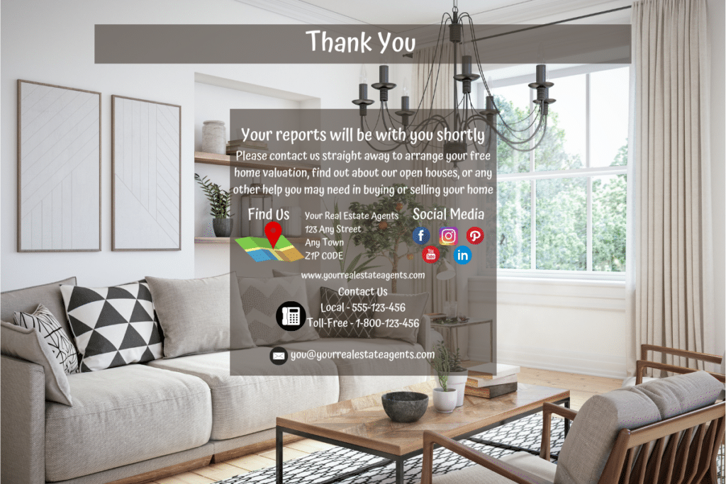 ClickFunnels For Real Estate Thank You page
